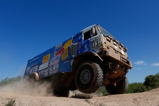 KAMAZ trucks – battle under harshest conditions