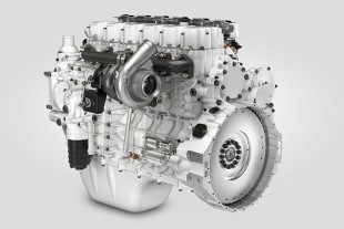 The new D956 and D966 engines with 12 and 13.5 litres displacements, respectively, share almost identical designs and dimensions.