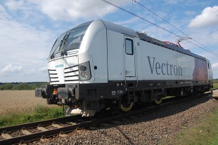 Liebherr technology reduces wheel wear on Vectron locomotives. - © Siemens