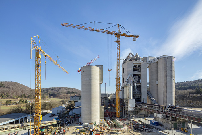 Tower Crane Productivity : Liebherr tower cranes everything from planning to