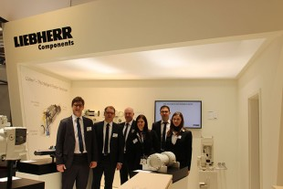 Liebherr presents its component solutions at Hannover Messe 2017.