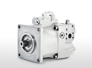Hydraulic variable displacement pump with an impeller, DPVO215i.