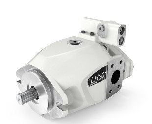 The medium pressure pump LH30VO is distinguished by its dynamic and compact housing design.