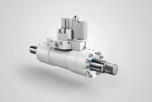 Servo-cylinders from Liebherr for high-dynamic applications.