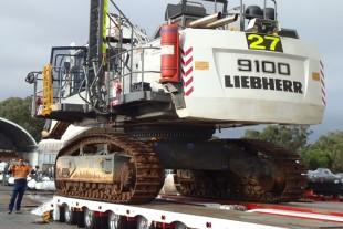 The R 9100 is the third Liebherr excavator for Glencore's Bulga in the last 12 months.