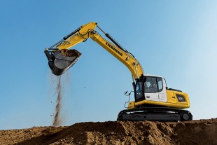 At the CTT Moscow, Liebherr presents the new crawler excavator R 920 for less regulated markets.