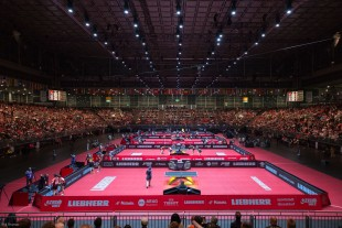 50,000 visitors are expected to attend the Liebherr World Table Tennis Championships 2017.