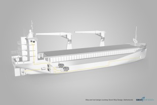 Hybrid ship propulsion systems by Liebherr.