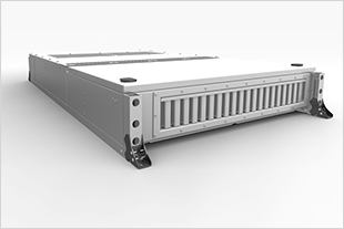 MACS 8.0 offers 70 percent more cooling per kilogram of weight and can be combined flexibly for any rail vehicle. - © Liebherr