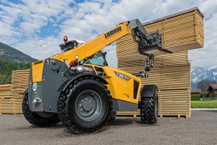 Liebherr's new TL 36-7 telescopic handler demonstrates its performance when used in sawmills.
