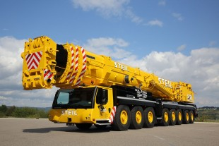 Steil Kranarbeiten has taken delivery of a new LTM 1500-8.1 mobile crane from Liebherr.