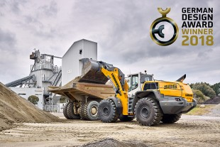 Clever and functional design: XPower large wheel loaders win the 2018 German Design Award.