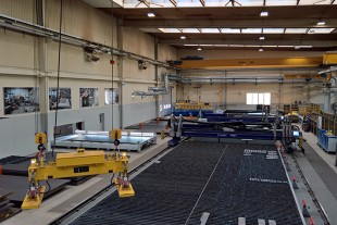 The sheet cutting area of Liebherr-France SAS has been recently revamped with a total investment of €6 million.