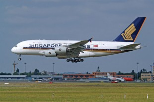 Singapore Airlines operates Airbus A380 aircraft since 2007 - © Airbus