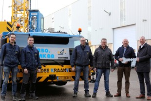 Handover of the landmark crane at Liebherr-Nederland B.V.