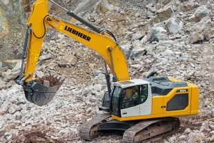 The new generation of crawler excavators for earthmoving work, developed and produced by Liebherr-France SAS in Colmar (France), is characterised by increased power, greater productivity, more safety and operating comfort for the driver.