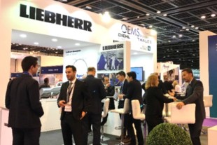 Liebherr expects many visitors again at this year's MRO Middle East