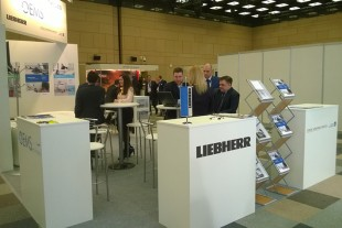 The stand of Liebherr and OEMServices at MRO Russia & CIS.