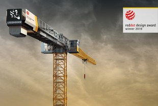 The new Liebherr 370 EC-B 12 Fibre wins Red Dot Design Award.