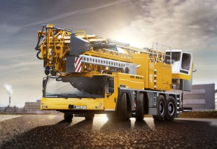 Facelift: The new Liebherr mobile construction crane MK 88-4.1.