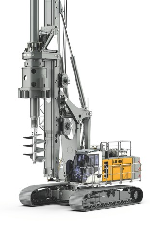 Liebherr presents the LB 45, successor to the proven drilling rig LB 36.