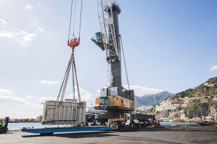 Mac Port managed to deliver more than 80 Liebherr machines to satisfied customers in Italy and Bulgaria