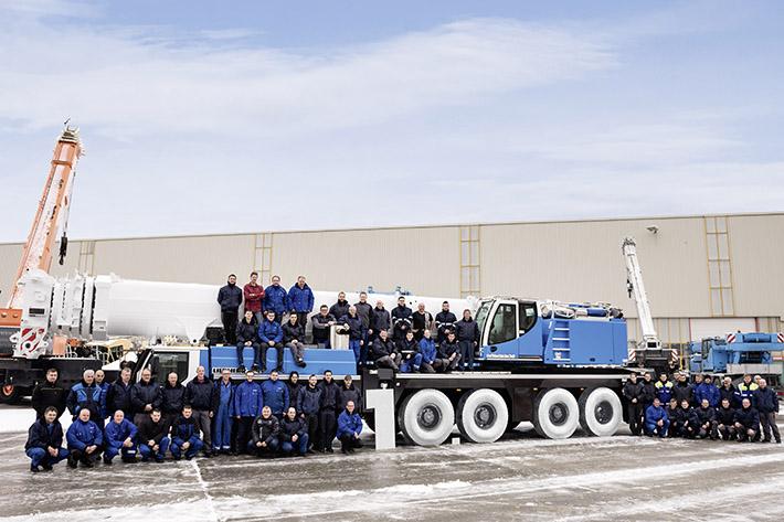 Liebherr-Ehingen supplies its 10,000th used crane - Liebherr