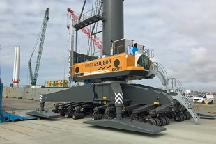 The crane will assist the offshore industry in which the wind turbines are getting larger and larger