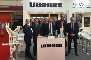 The Liebherr-Aerospace team is ready to welcome visitors at MRO Europe.
