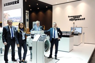 Liebherr at Agritechnica 2019: Component solutions for forestry and agriculture.