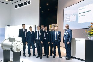 Liebherr Components at SPS: Power and control electronics for the industry.