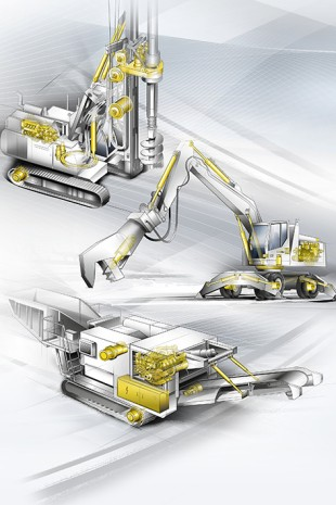 At Conexpo 2020, Liebherr brings large-scale technology to life also with its tailor-made components.