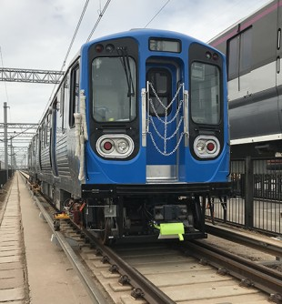 Prototype car of the CTA 7000 series - © CRRC Sifang America
