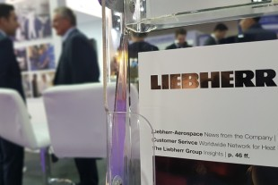 Liebherr is ready to welcome its visitors at MRO Middle East. © Liebherr