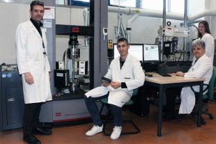 Members of the Material Testing Laboratory Team at Liebherr-Aerospace in Toulouse