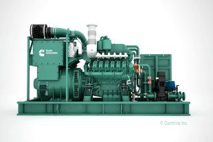 G9512 gas engines by Liebherr for the new Cummins C25G gas generator series.