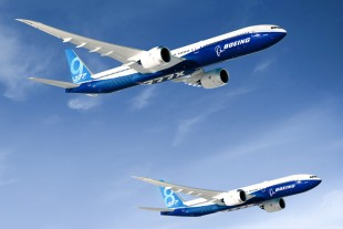 The 777X – Boeing's latest aircraft - © Boeing