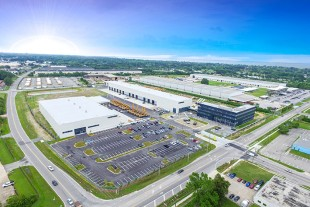 Liebherr USA, Co. headquarters opens at expanded campus in Newport News, Virginia.