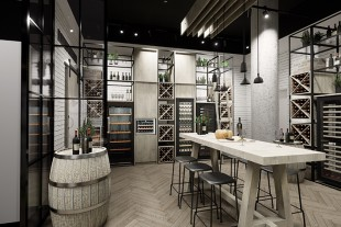 Customers can experience the wide range of Liebherr products across a spacious area of 170 square metres. The wine-themed section also invites you to sample a glass.