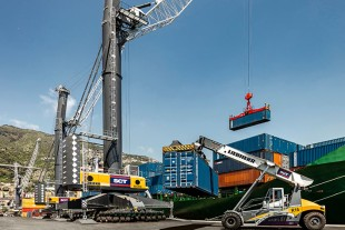 Liebherr Port Equipment impresses Salerno Container Terminal (SCT) with high quality and efficiency.