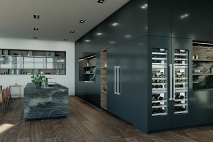The Monolith wine cabinet: a collector's dream for wine connoisseurs.