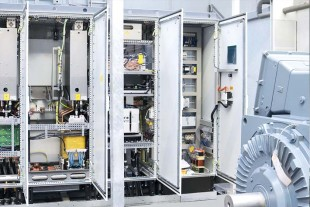 The 1.5 MW converter drive LCD 300 (Liduro Converter Drive) is an essential part of Liebherr's engineering solution.