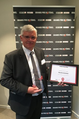 Martin Schickel, managing director of Liebherr-France SAS, Colmar (France), has been named person of the year.
