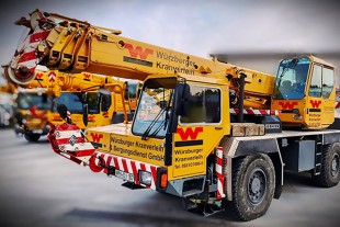 Reliable vintage crane – LTM 1025 built in 1991.