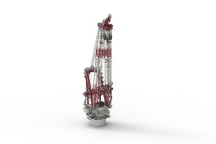 Liebherr Heavy Lift Crane 150000-3000 is ready for a wide range of applications and a key feature of OHT's Alfa Lift