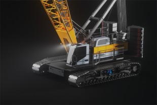 LR 1250.1 unplugged. – the world's first battery-powered crawler crane.