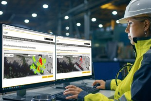 Using the incident map, the Liebherr wheel loader operator can identify risk zones on the site and implement measures to avoid accidents.