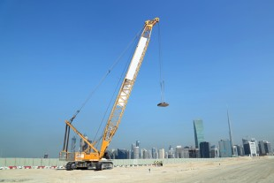 Deep soil compaction in Dubai.