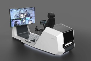 The PR 776 dozer will feature the new LiReCon Liebherr teleoperation system, which provides additional comfort and safety for operators in tough mining applications.
