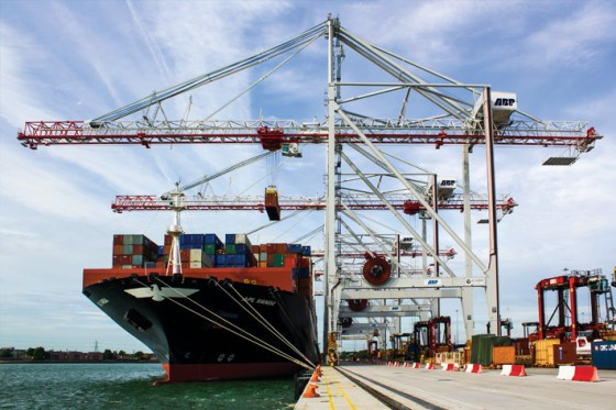 Ship to Shore Container Cranes - Liebherr